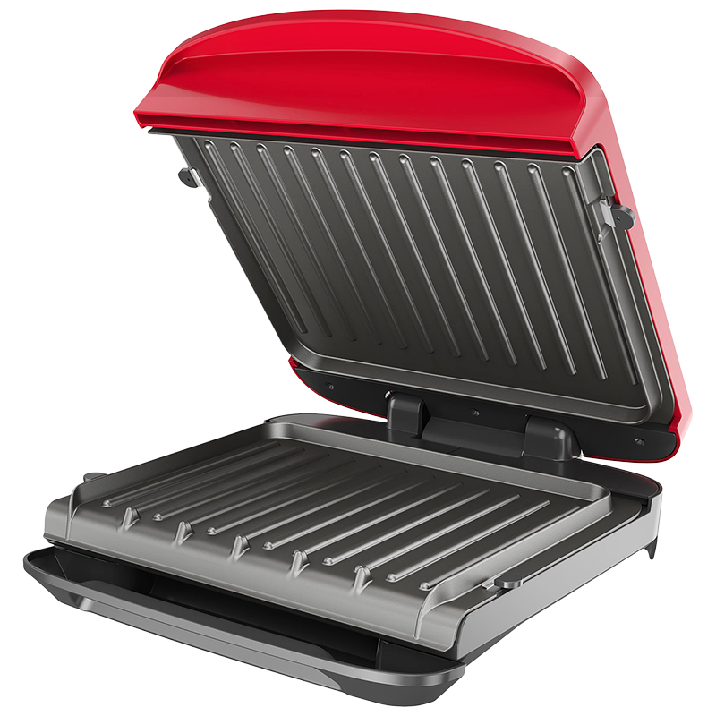George Foreman Rapid Grill  - Red - RPGF3602RD