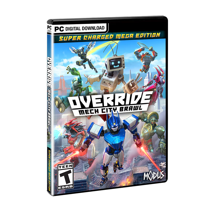 PC Override: Mech City Brawl - Super Charged Mega Edition