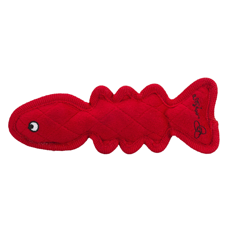 Loopies Floppy Fish Dog Toy - 9 inch - Assorted