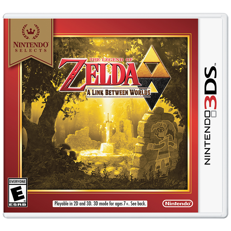 Nintendo 3DS Selects: The Legend of Zelda - A Link Between Worlds