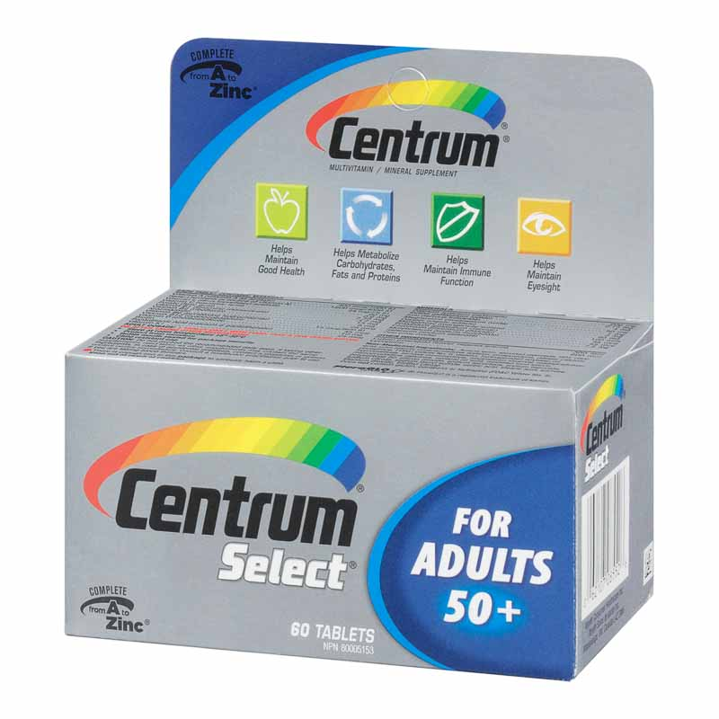 Centrum Select 50 Plus - 60's
