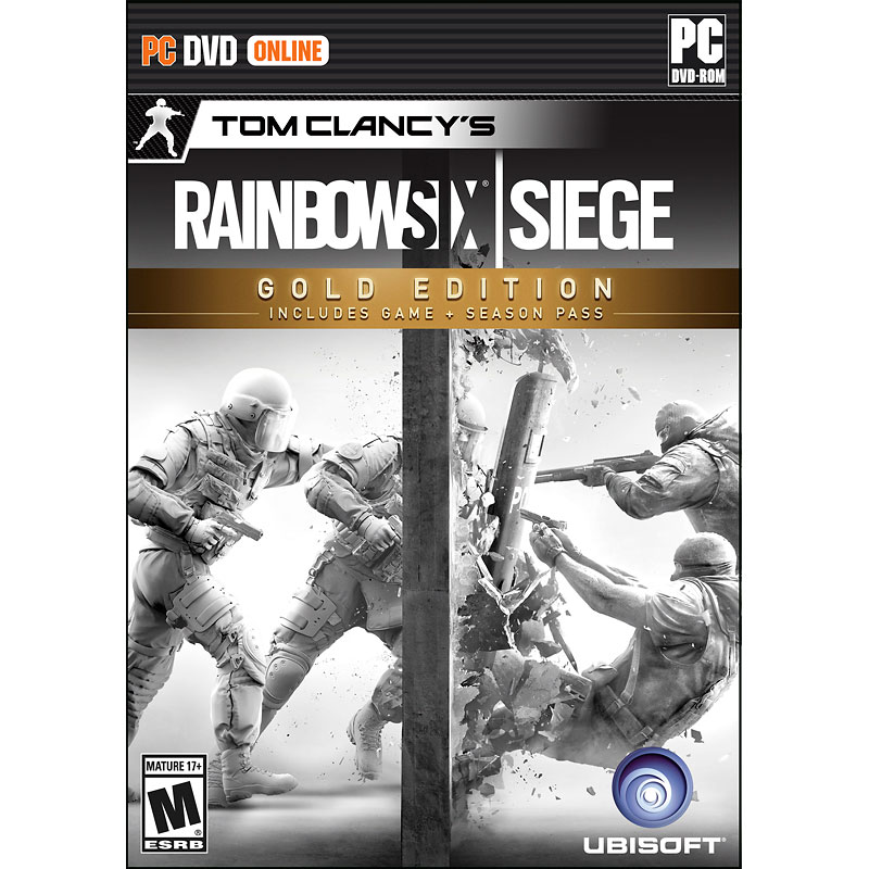 PC Rainbow Six Siege - Gold Edition