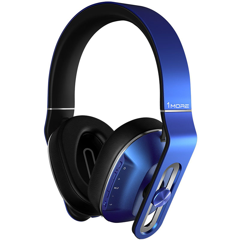 1MORE Bluetooth Over-Ear Headphones - Blue - MK802