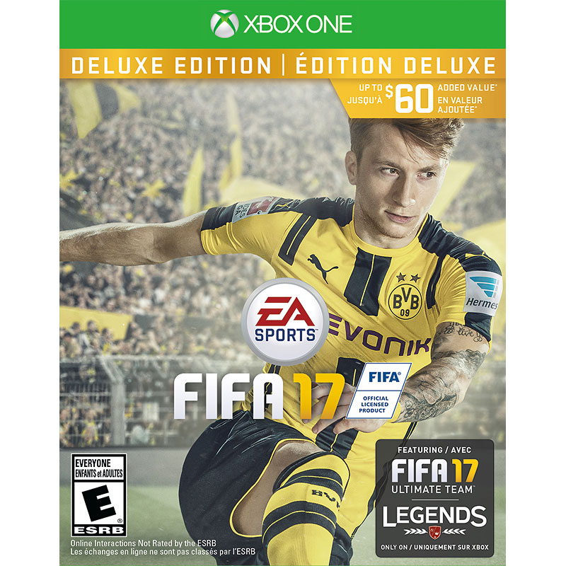 Xbox One EA Sports FIFA 17 Deluxe Edition