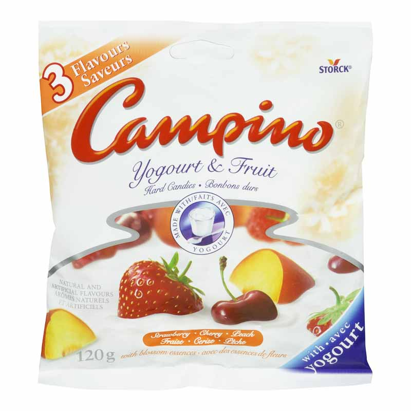 Campino Yogourt & Fruit Hard Candy - 120g