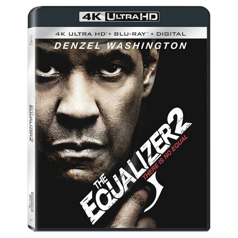 The Equalizer 2 - 4K UHD Blu-ray
