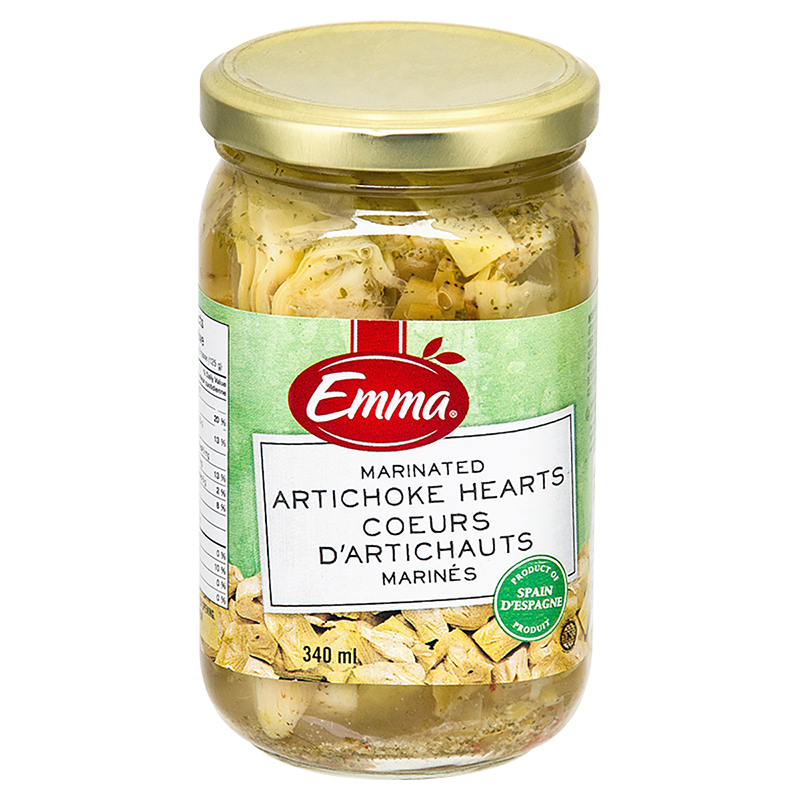 Emma Marinated Artichoke Hearts - 340ml