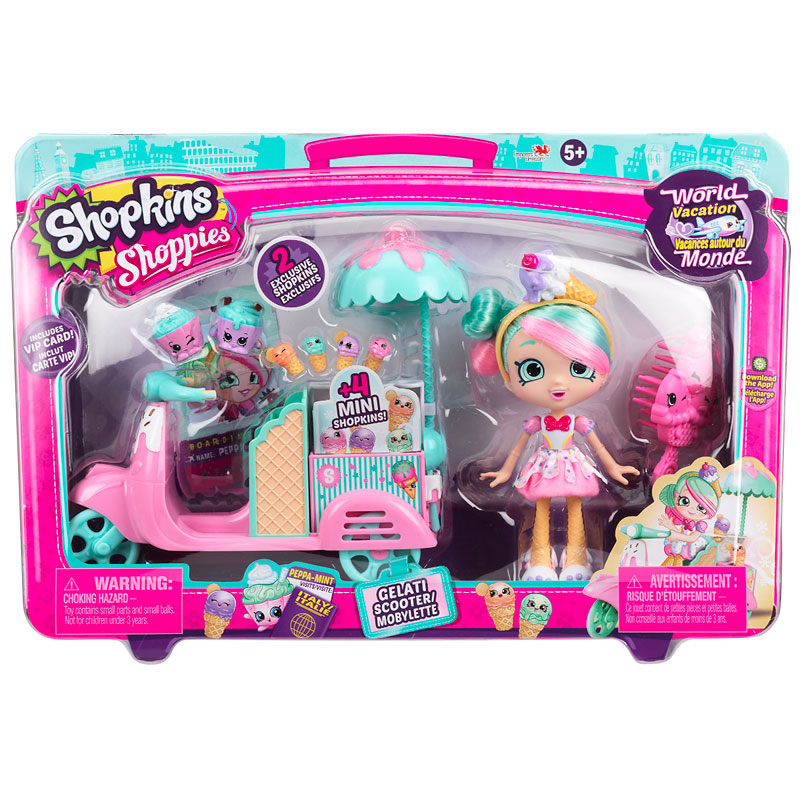Shoppies Gelati Scooter Playset
