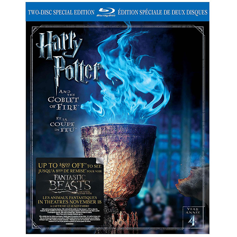 Harry Potter and the Goblet of Fire - Blu-ray