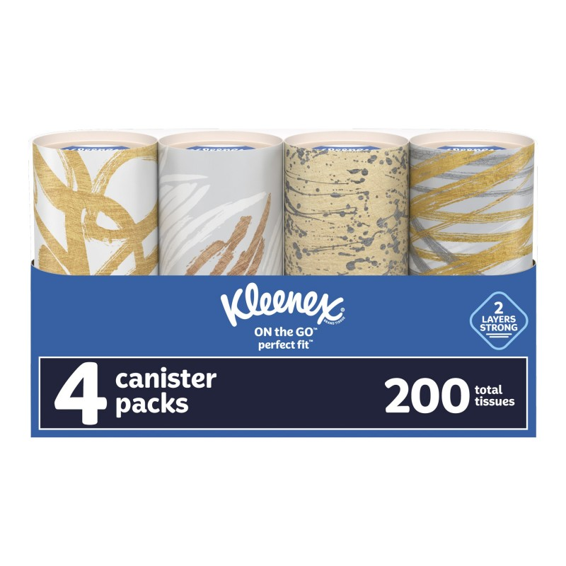 Kleenex Perfect Fit Tissues - 4 x 50's