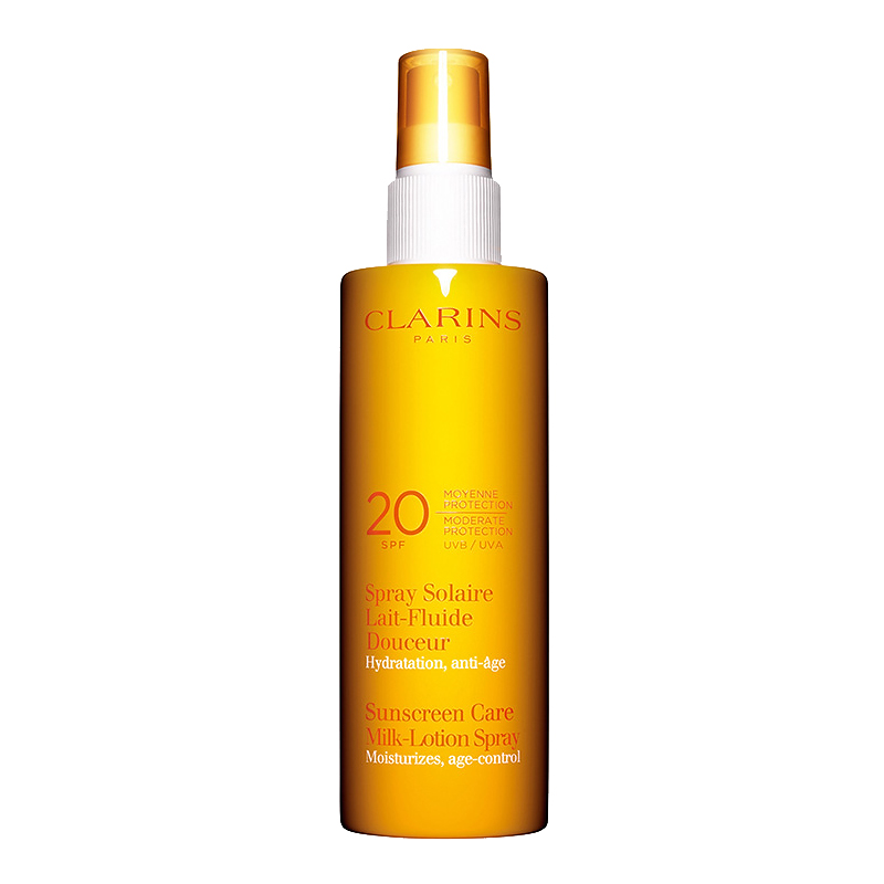Clarins Sunscreen Care Milk-Lotion Spray - SPF 20 - 150ml