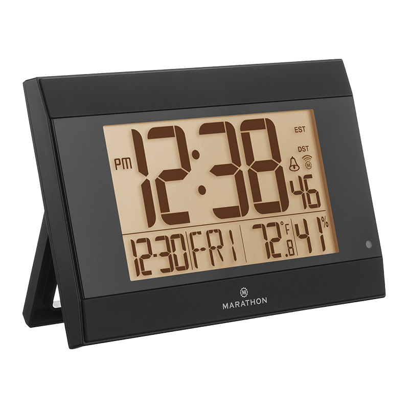 Marathon Atomic Digital Clock - CL030052BK