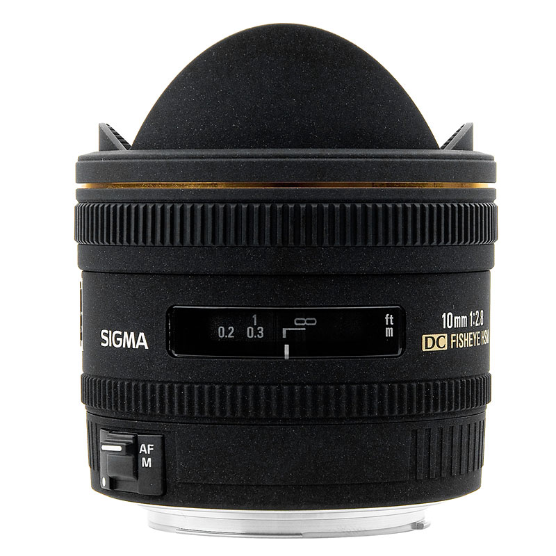 Sigma EX DC 10mm f2.8 Fisheye Lens for Canon - EXDC10HC