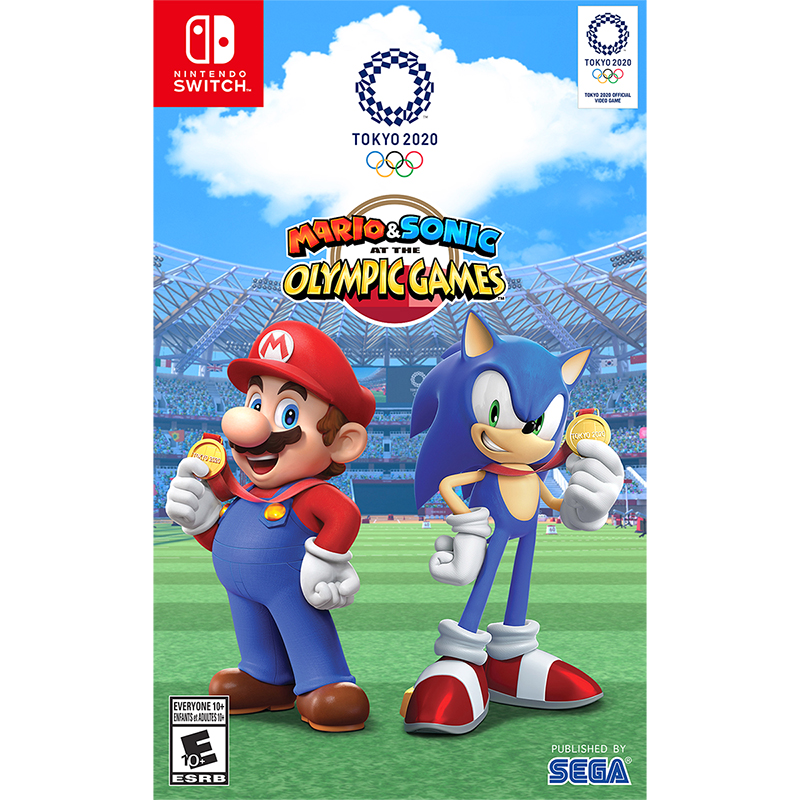 Nintendo Switch Mario and Sonic at the Olympic Games Tokyo 2020