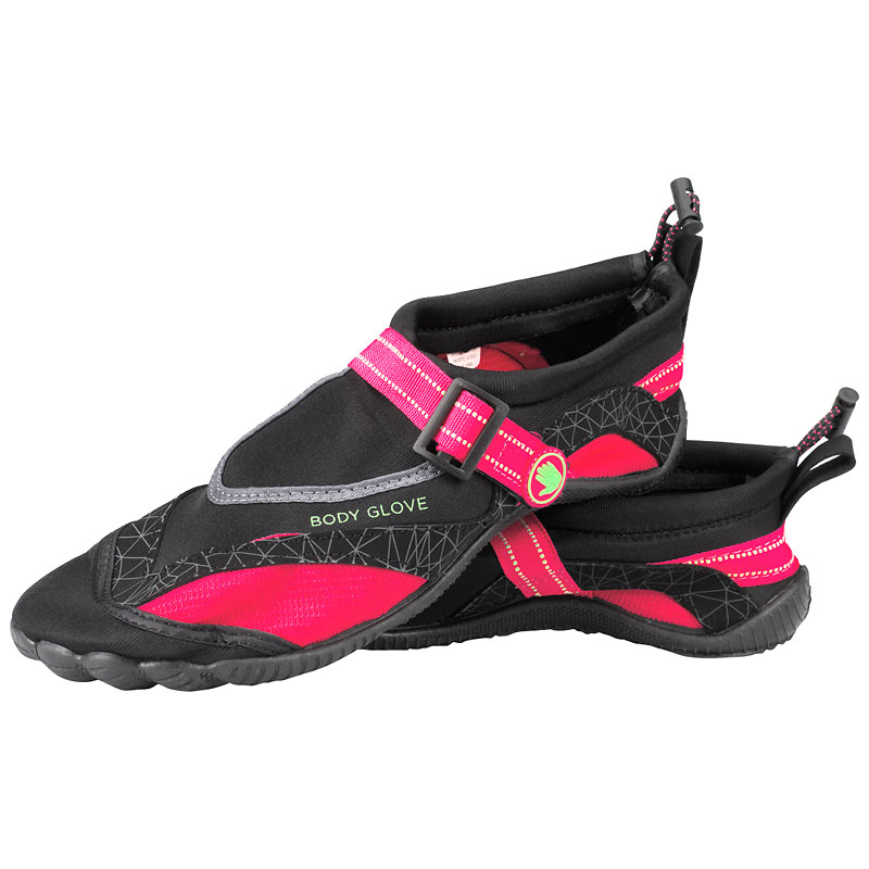 Body Glove Women's Realm Aqua Shoe - Neon Pink/Green