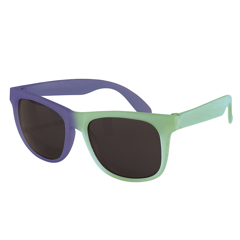 Real Shades Switch Wayfarer Sunglasses - Size 4 - Green/Blue