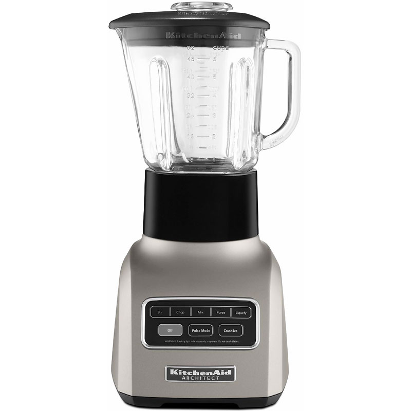 KitchenAid Architect Series 5-speed Blender - Cocoa Silver - KSB655CS