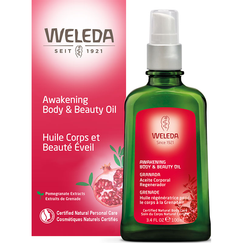 Weleda Pomegranate Awakening Body & Beauty Oil - 100ml