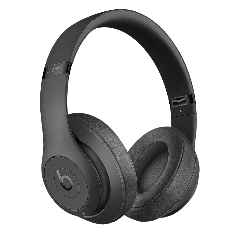 Beats Studio3 Wireless Over-Ear Headphones - Matte Black - MQ562LL/A