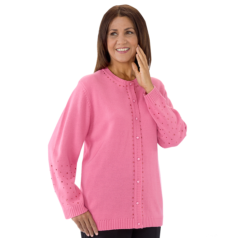 Silverts Adaptive Cardigan Sweater Disabled Clothing