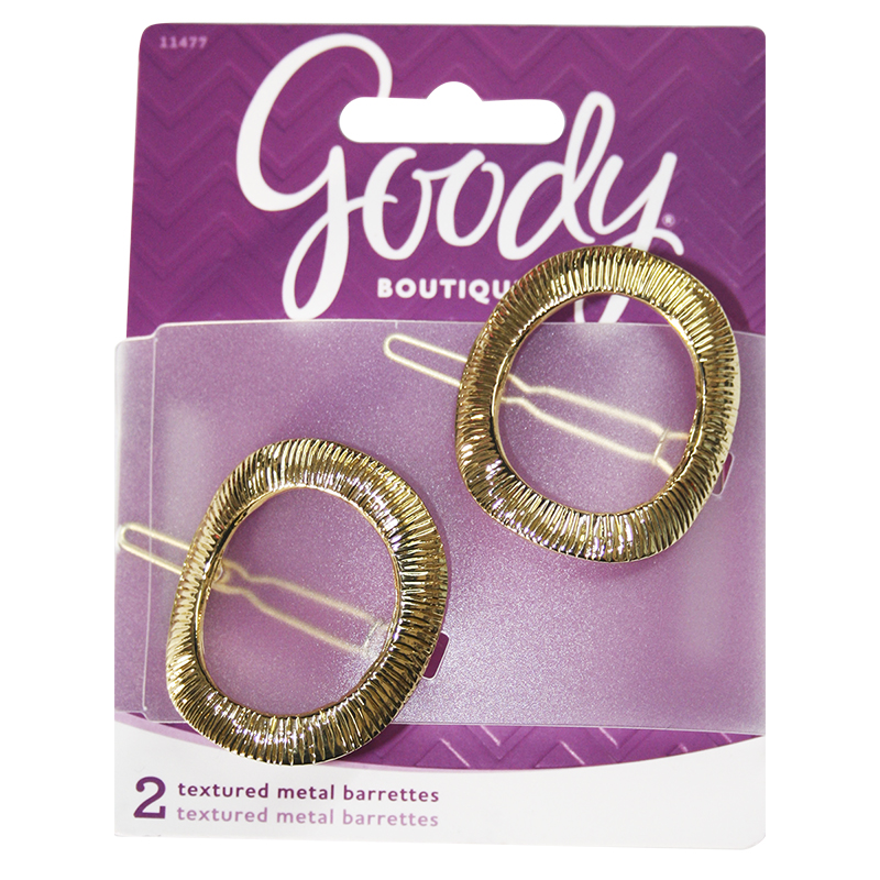 Goody Boutique Textured Metal Barrette - 11477