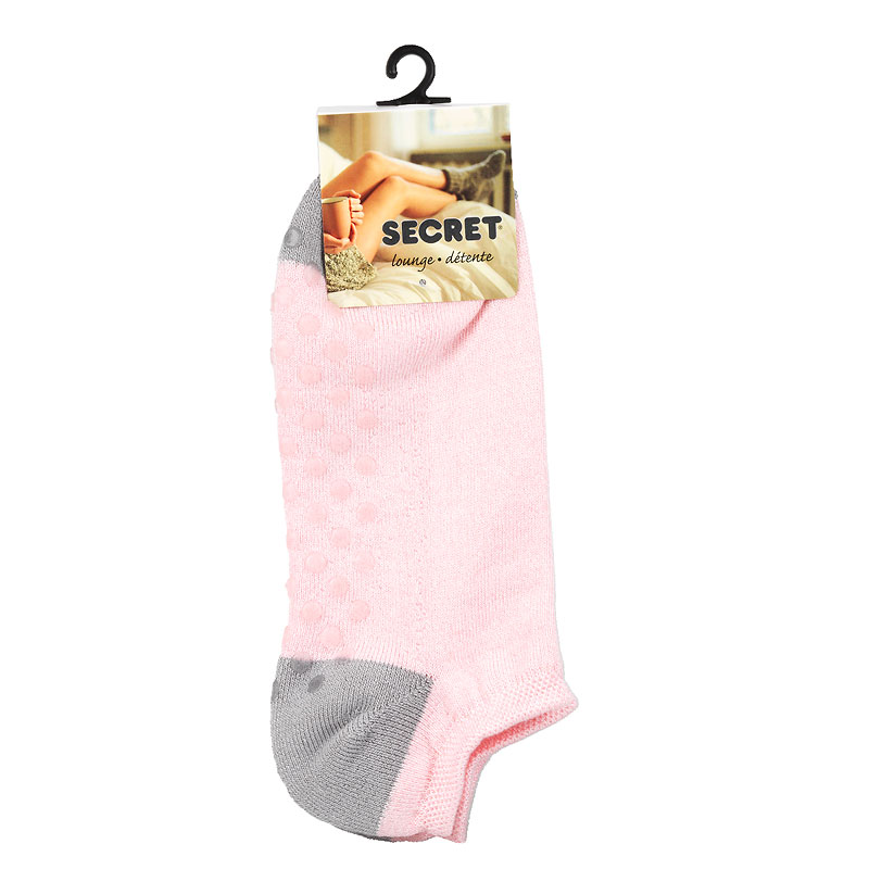 Secret Heel Toe Ladies Low Cut Sock - Assorted