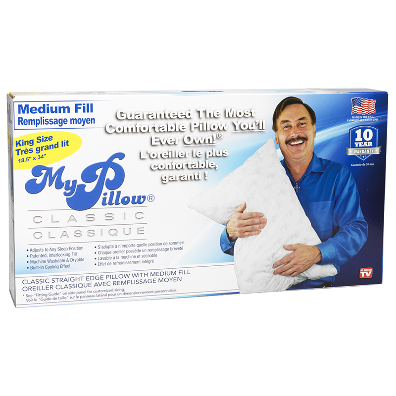 My Pillow Medium Filled Pillow King London Drugs