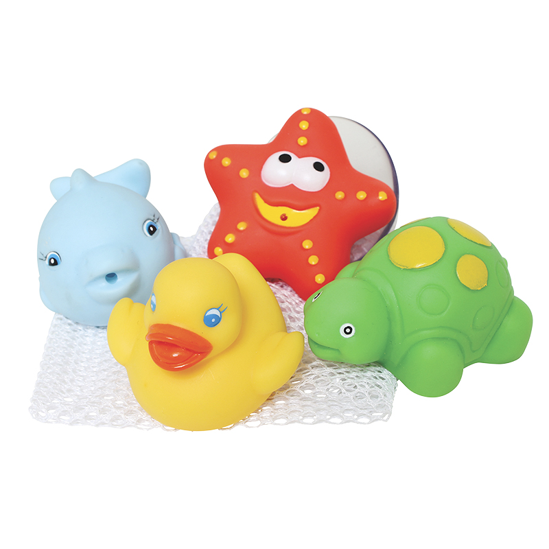 Playgro Bath Squirtees and Storage Set