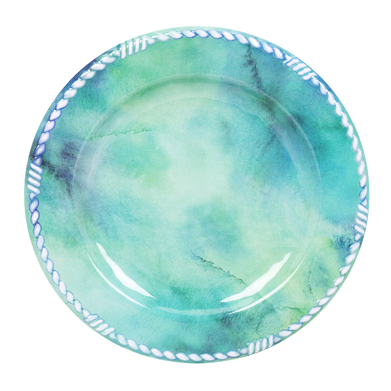 London Drugs Melamine Dinner Plate - Teal - 11in