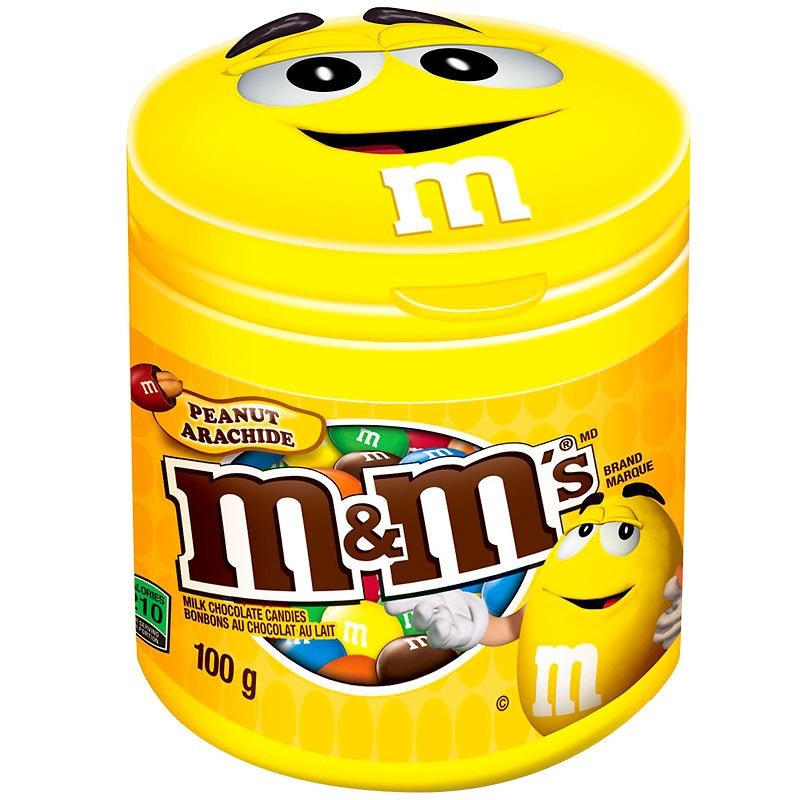 M&M's Peanut Bottle - 100g