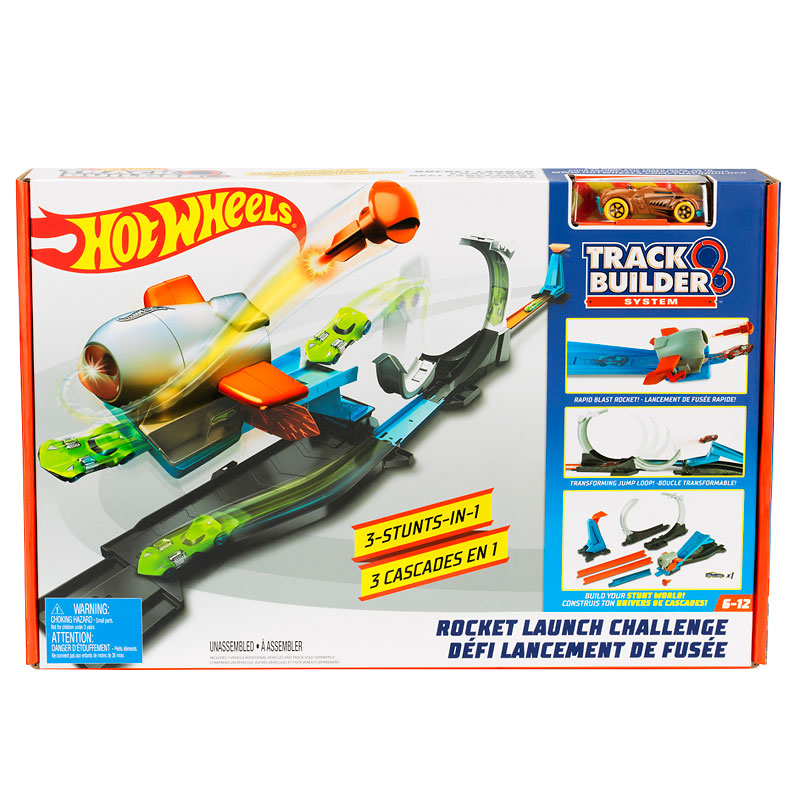 Hot Wheels Track Builder Play Set