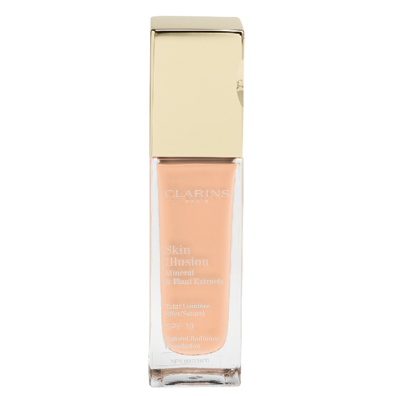 Clarins Skin Illusion Natural Radiance Foundation - SPF 10 - 110 Honey