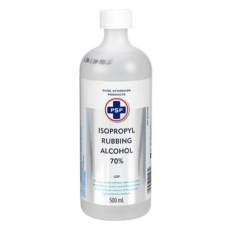 PSP Isopropyl Rubbing Alcohol 70% - 500ml