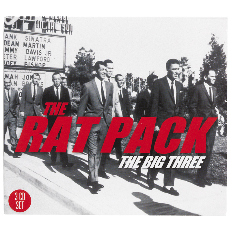 The Rat Pack - The Big Three - 3 CD