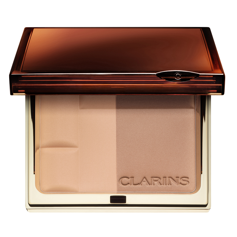 Clarins Bronzing Duo Powder Compact - Light