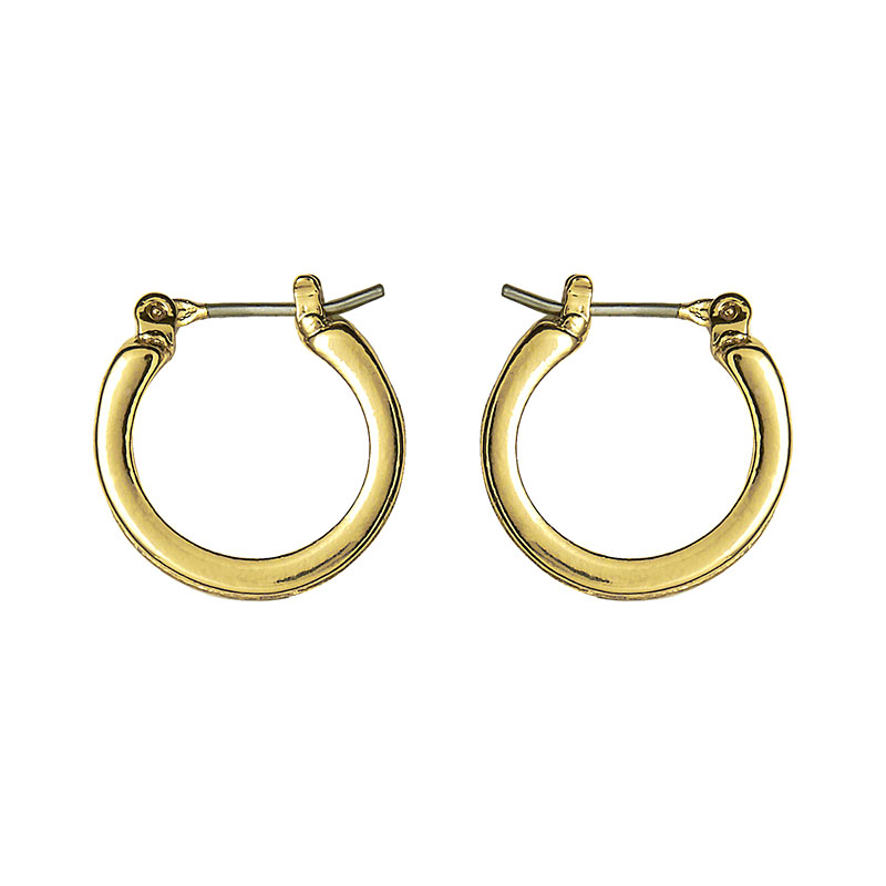 Anne Klein Small Hoop Earrings - Gold
