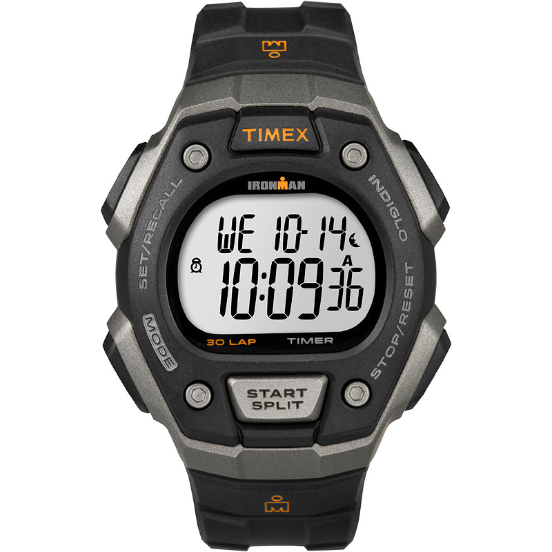 Timex Ironman Watch - Black/Grey - T5K821GP