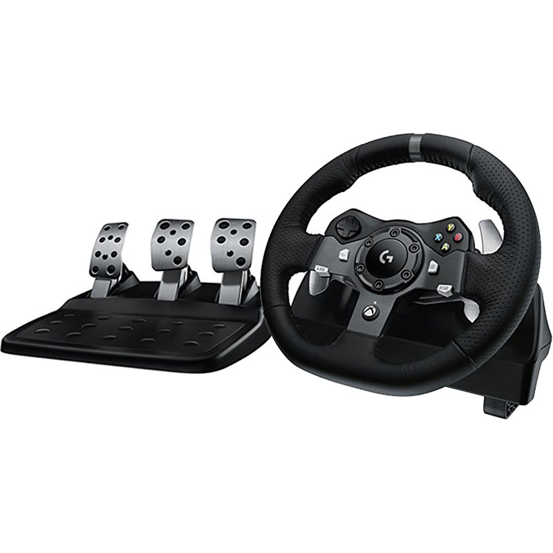 Logitech G920 Racing Wheel - Black - 941-000121