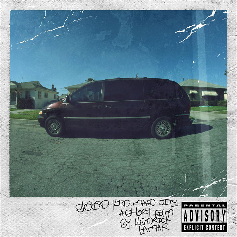 Kendrick Lamar - Good Kid, M.A.A.D City - CD