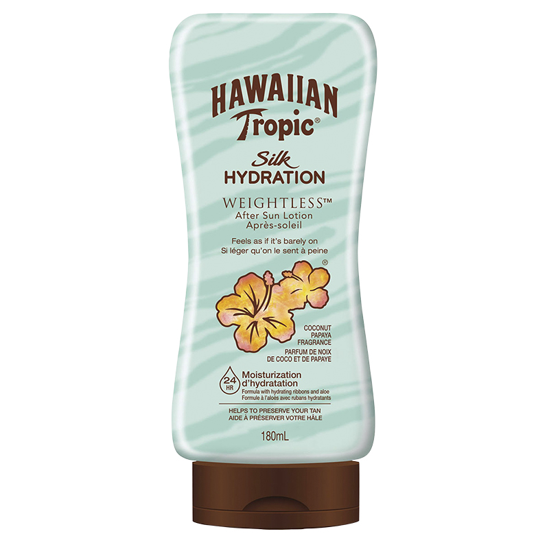 Hawaiian Tropic Silk Hydration Weightless After Sun Lotion - 180ml