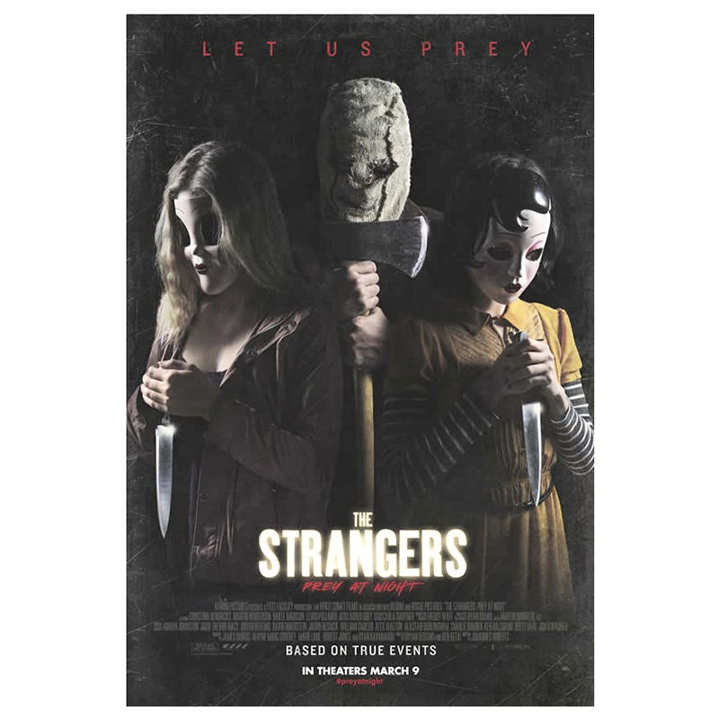 The Strangers: Prey at Night - DVD