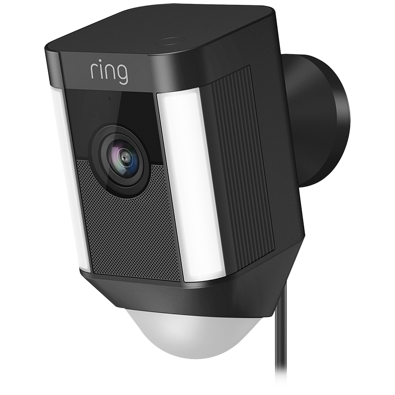 Ring Spotlight Cam Wired - Black - RING-8SH1P7-BFC0
