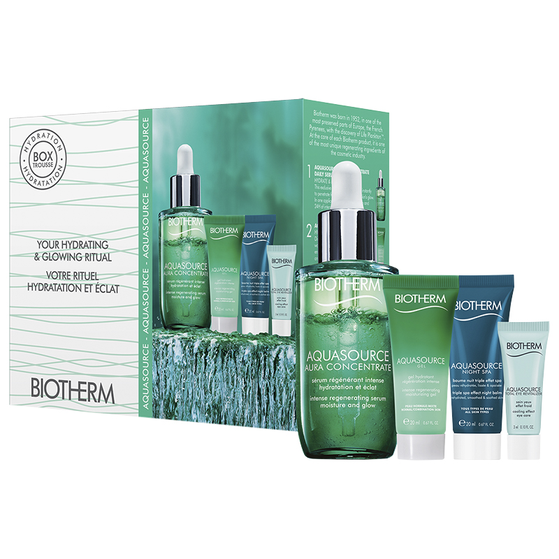 Biotherm Aquasource Bi-phase Serum Set - 4 piece