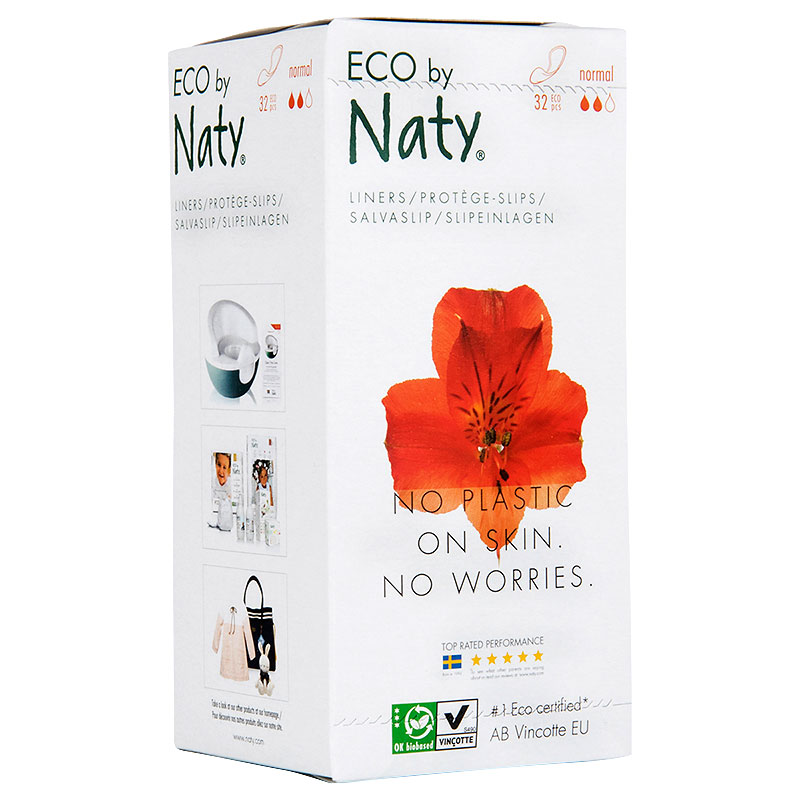 Eco by Naty Sanitary Liners - Normal - 32's