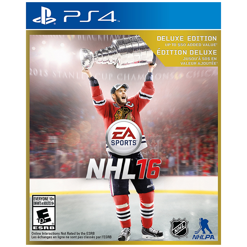 PS4 NHL 16: Deluxe Edition