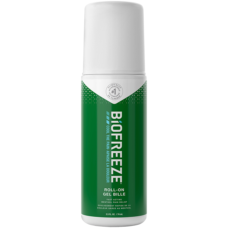Biofreeze Cold Therapy Pain Relief Roll On - 74ml