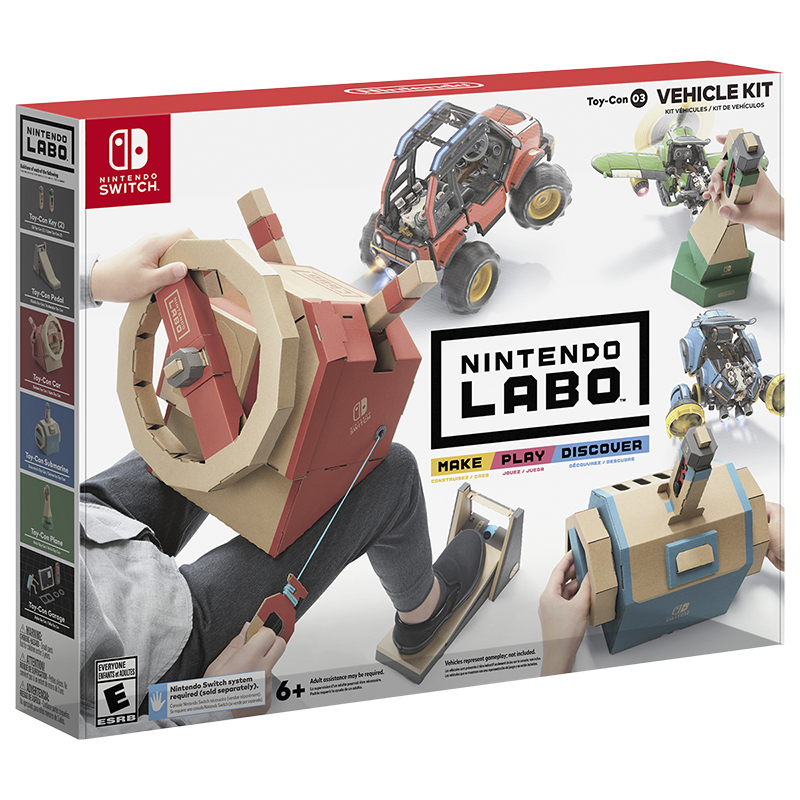 Nintendo Switch Toy Con 03 - Vehicle Kit