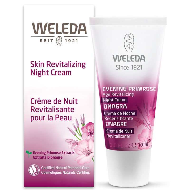 Weleda Evening Primrose Skin Revitalizing Night Cream - 30ml