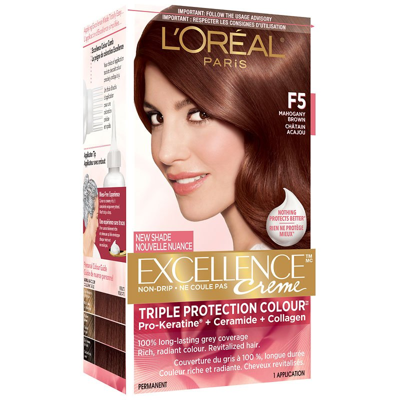 Loreal Hair Color Mahogany Brown Best Hair Color 2018