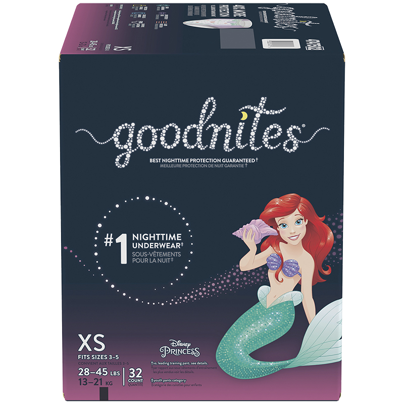 GoodNites Underwear for Girls - Extra Small - 32's